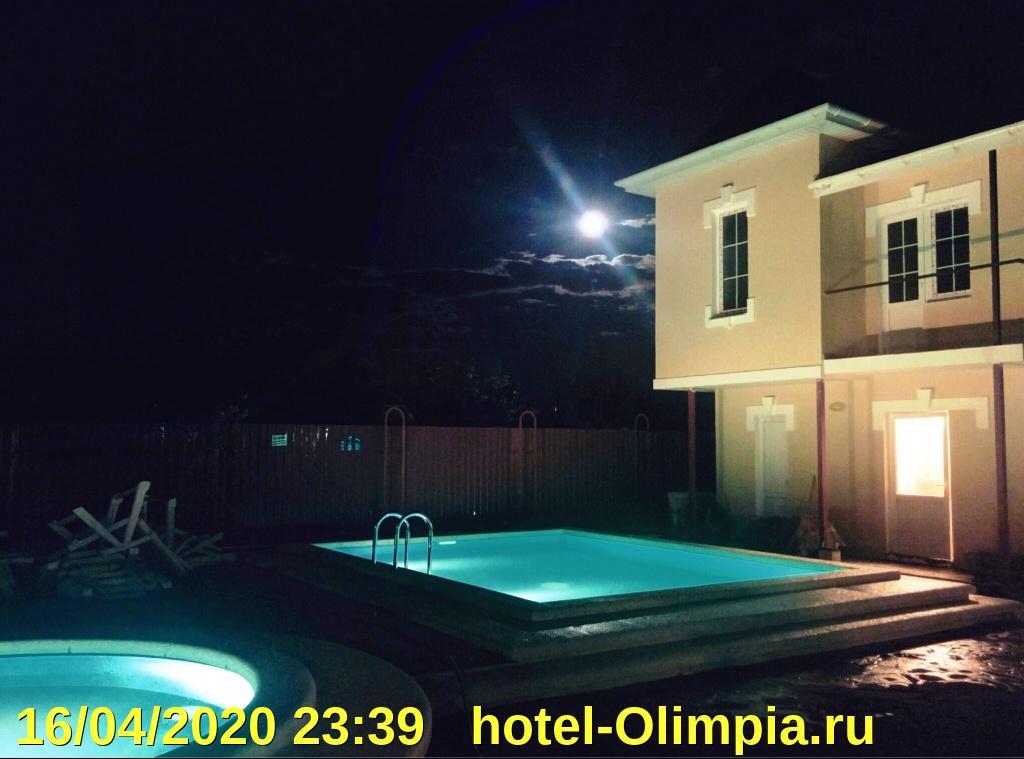 Вебкамера демонстрирует погоду за окном гостевого дома Олимпия, Станица Благовещенская